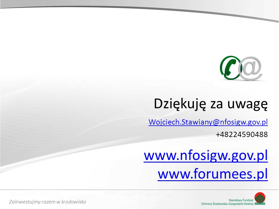 www.nfosigw.gov.pl www.forumees.pl