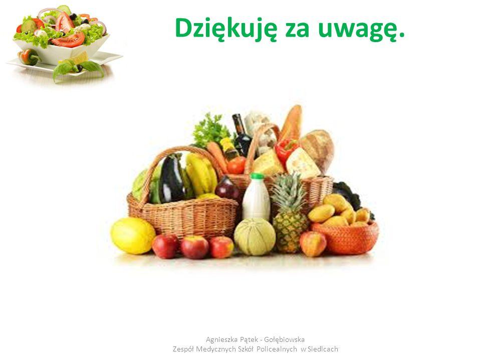Dziękuję za uwagę. Agnieszka Pątek - Gołębiowska