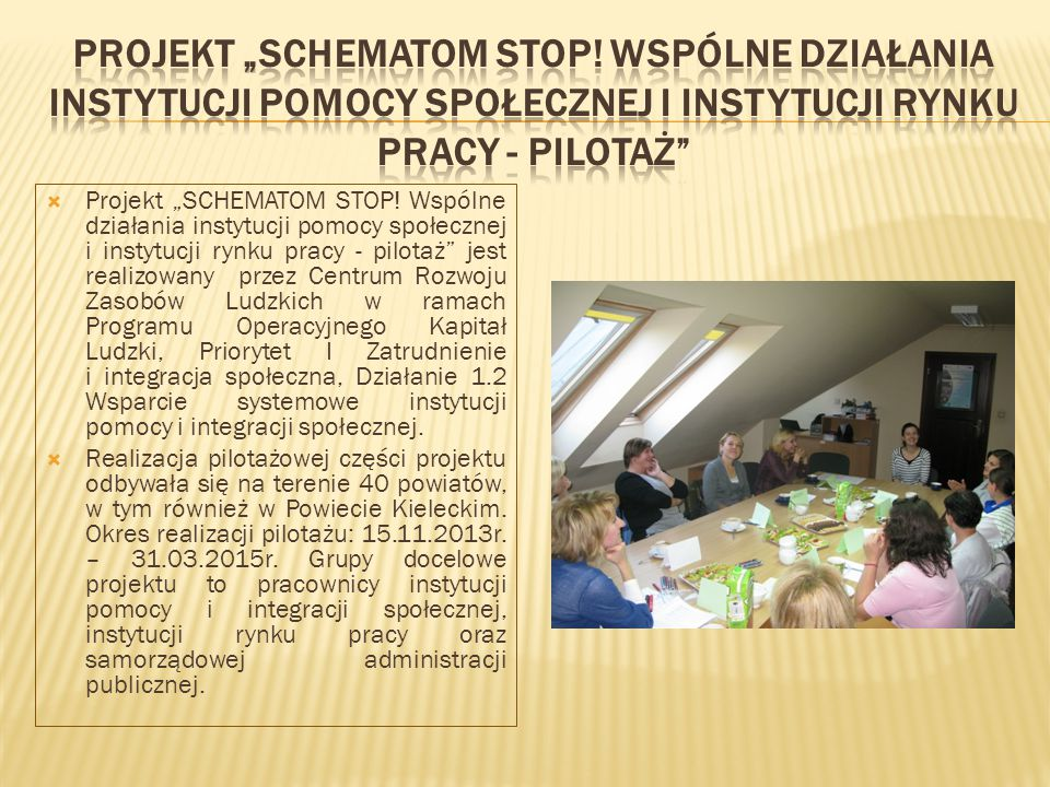 """Projekt """"SCHEMATOM STOP"""