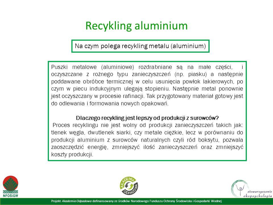Dlaczego recykling jest lepszy od produkcji z surowców
