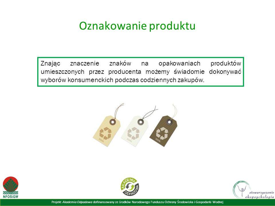 Oznakowanie produktu