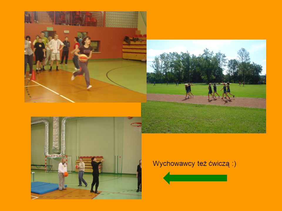 Wychowawcy też ćwiczą :)