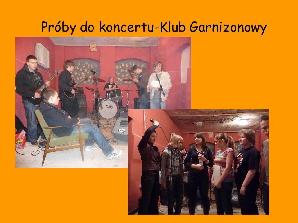 Próby do koncertu-Klub Garnizonowy