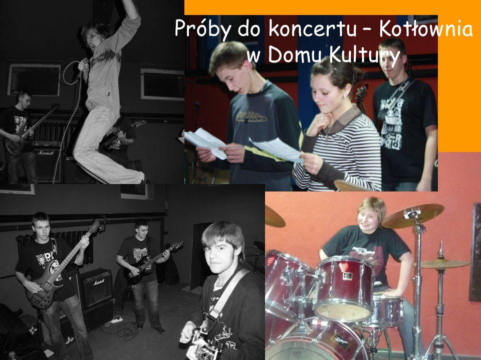 Próby do koncertu – Kotłownia w Domu Kultury