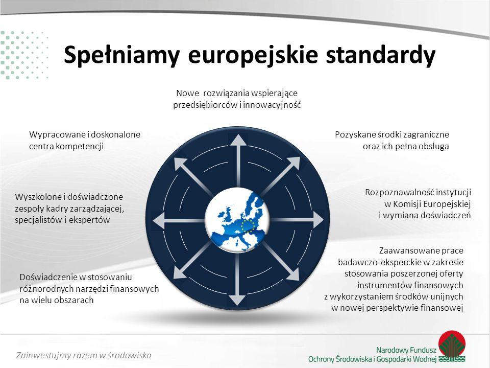 Spełniamy europejskie standardy