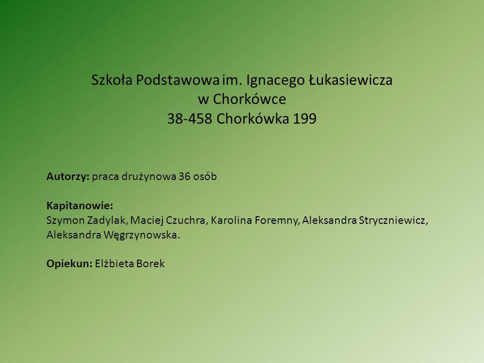 Szkoła Podstawowa im. Ignacego Łukasiewicza