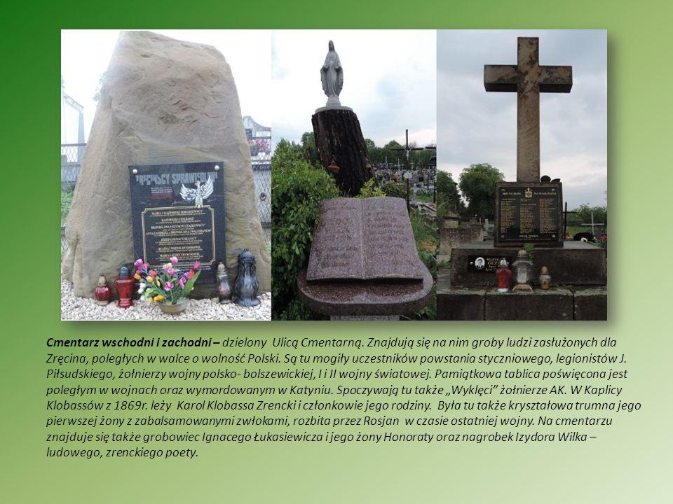 Cmentarz wschodni i zachodni – dzielony Ulicą Cmentarną