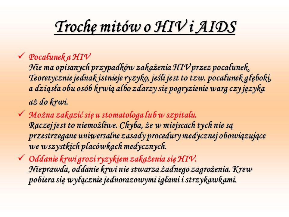 Trochę mitów o HIV i AIDS