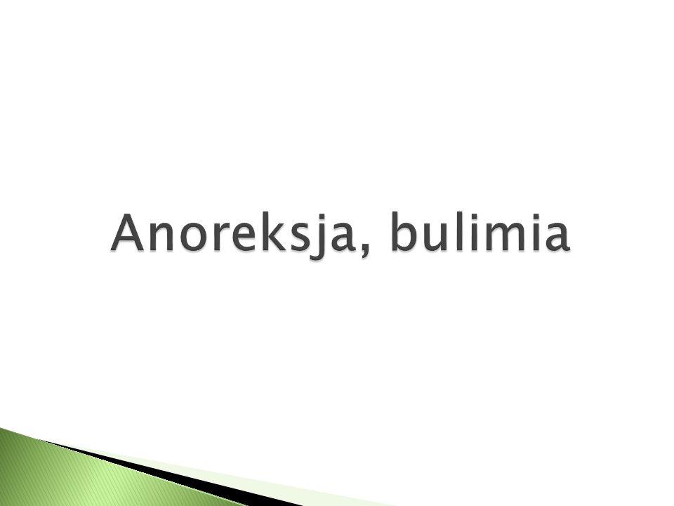 Anoreksja, bulimia
