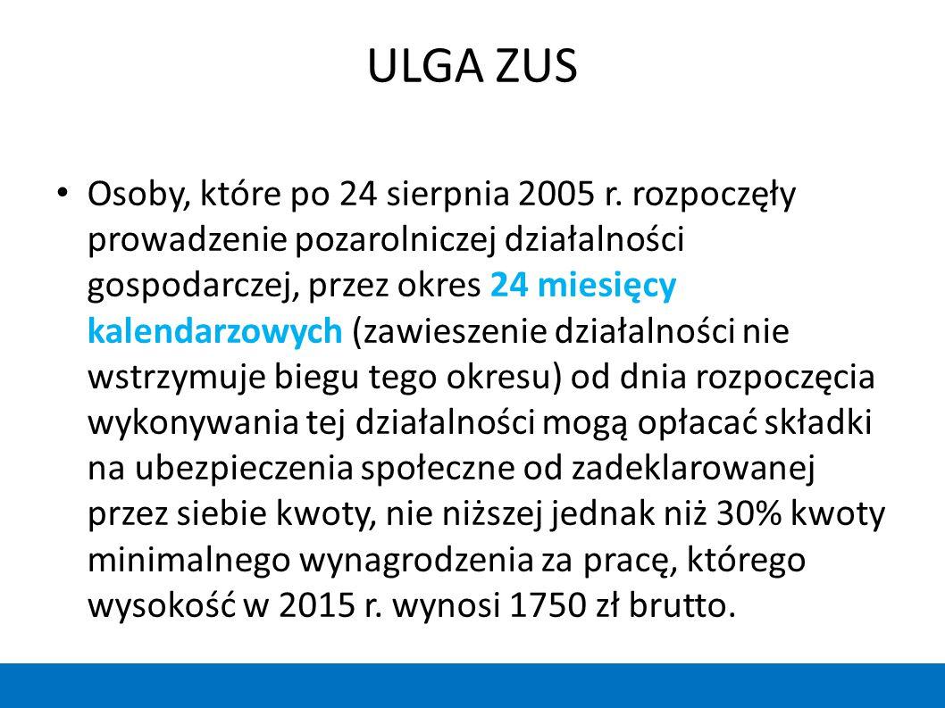 ULGA ZUS