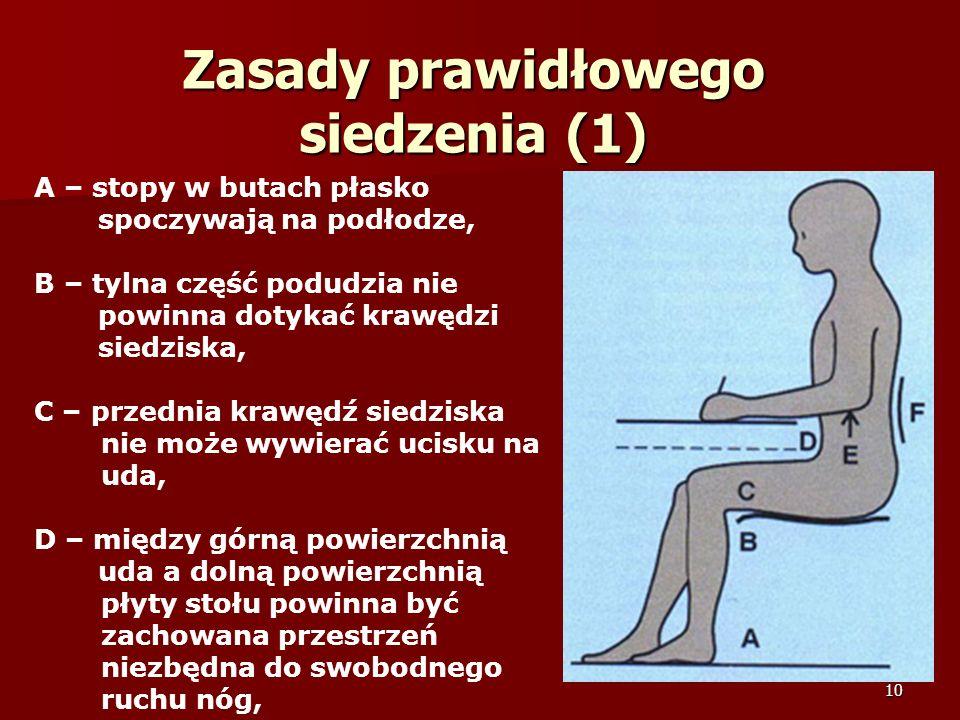 Zasady prawidłowego siedzenia (1)