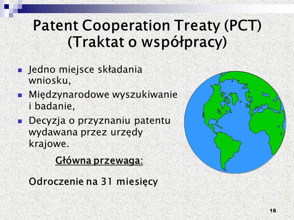 Patent Cooperation Treaty (PCT) (Traktat o współpracy)