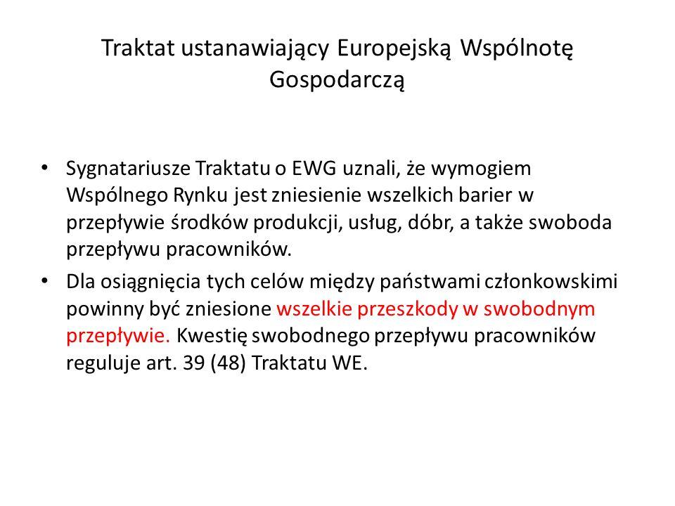 Traktat ustanawiający Europejską Wspólnotę Gospodarczą
