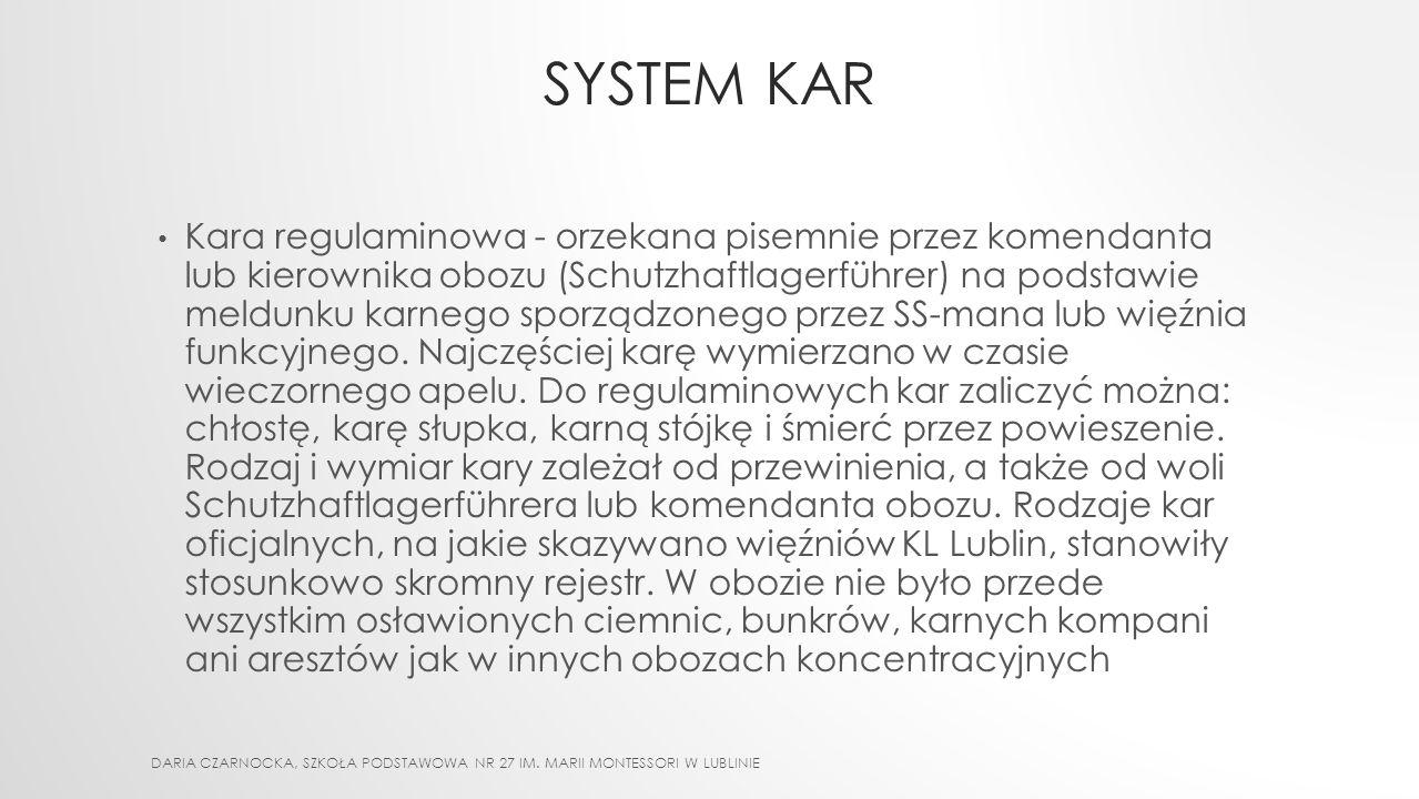 SYSTEM KAR