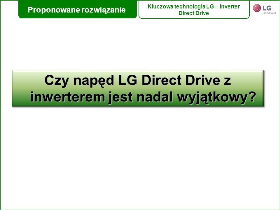 Czy napęd LG Direct Drive z inwerterem jest nadal wyjątkowy