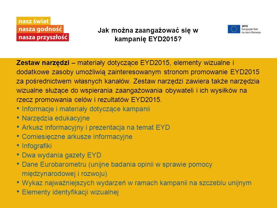 Jak można zaangażować się w kampanię EYD2015