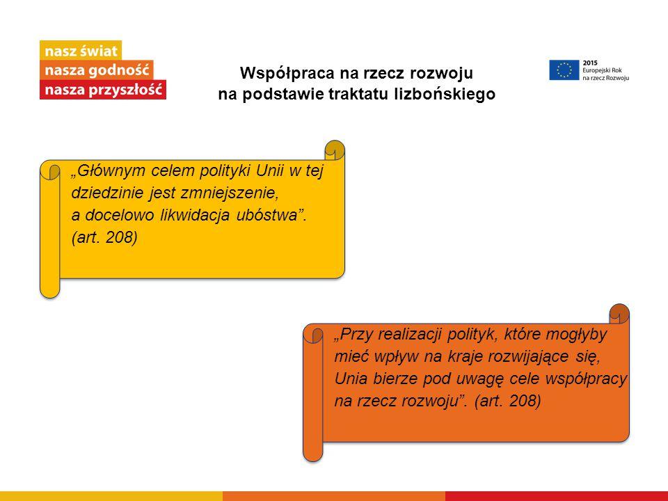 Współpraca na rzecz rozwoju na podstawie traktatu lizbońskiego