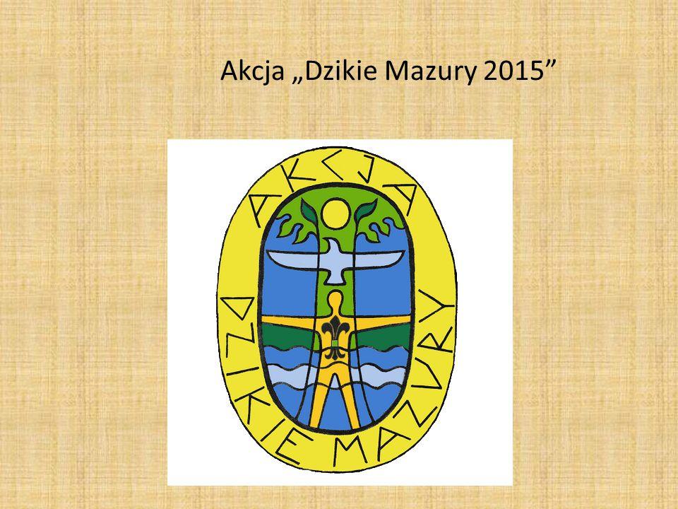 """Akcja """"Dzikie Mazury 2015"""