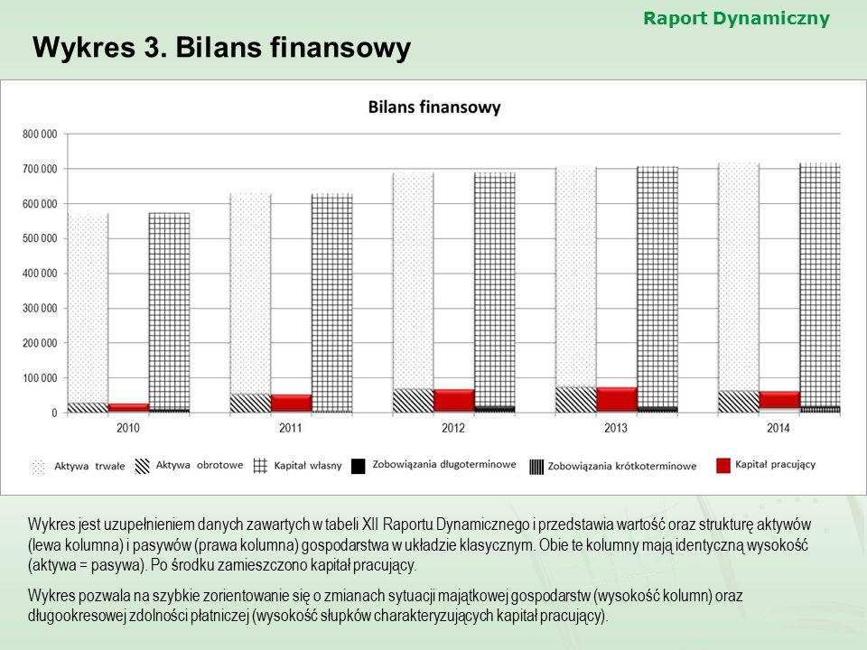 Wykres 3. Bilans finansowy