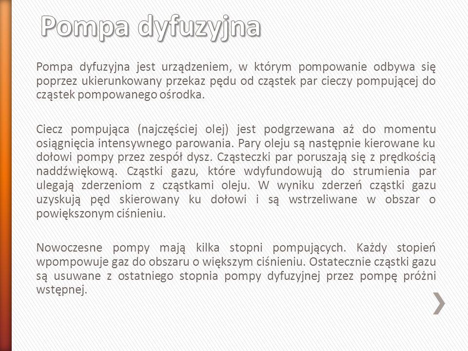 Pompa dyfuzyjna