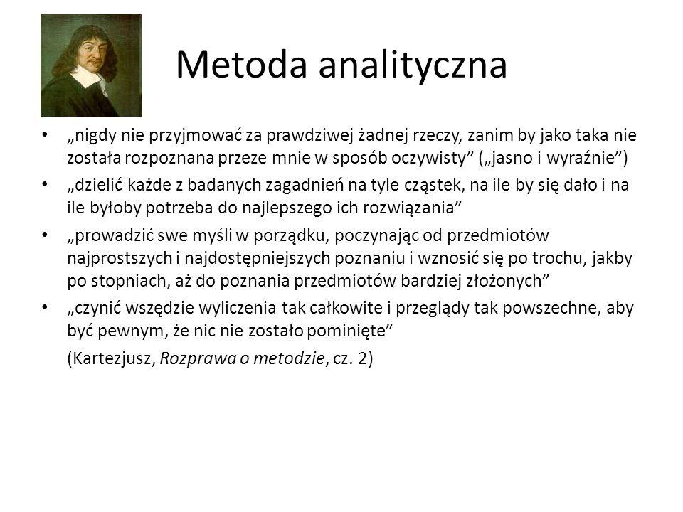 Metoda analityczna