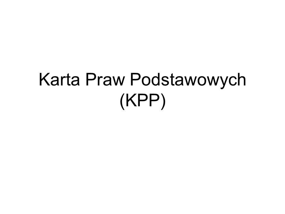 Karta Praw Podstawowych (KPP)