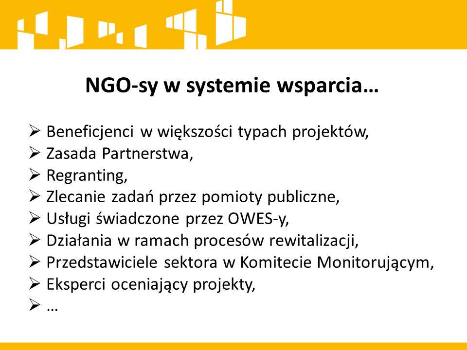 NGO-sy w systemie wsparcia…