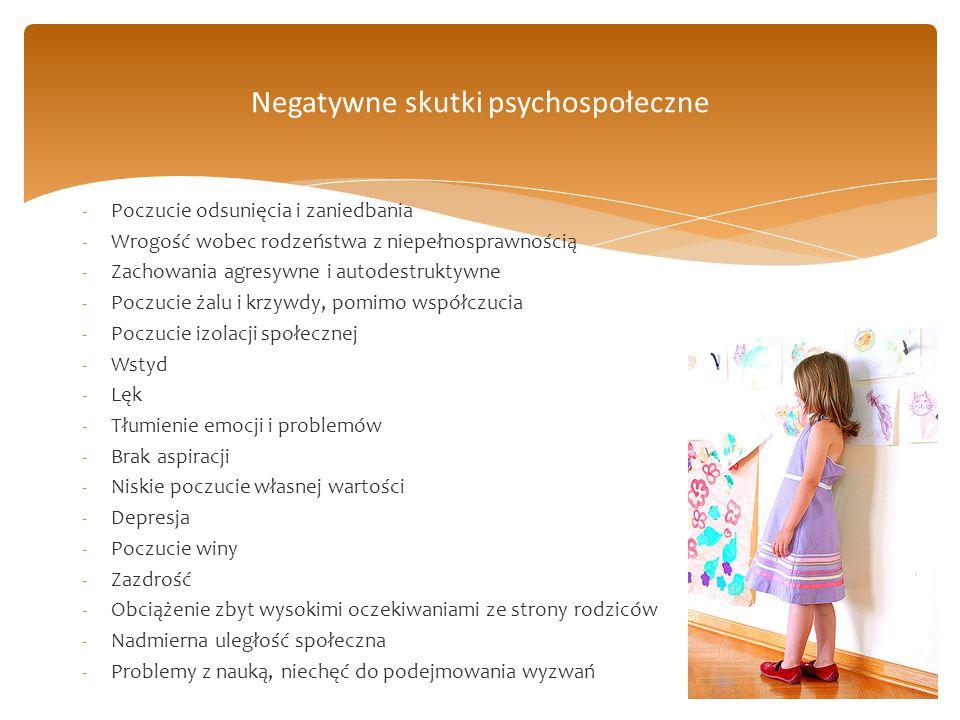 Negatywne skutki psychospołeczne