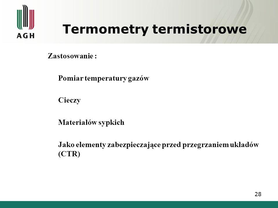 Termometry termistorowe
