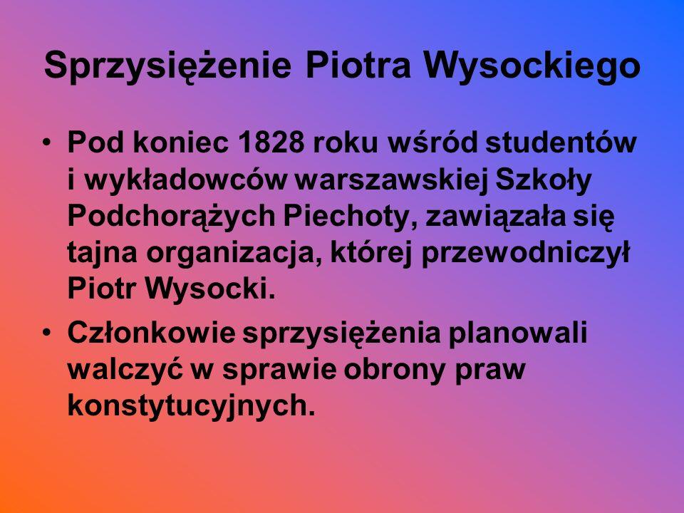 Sprzysiężenie Piotra Wysockiego