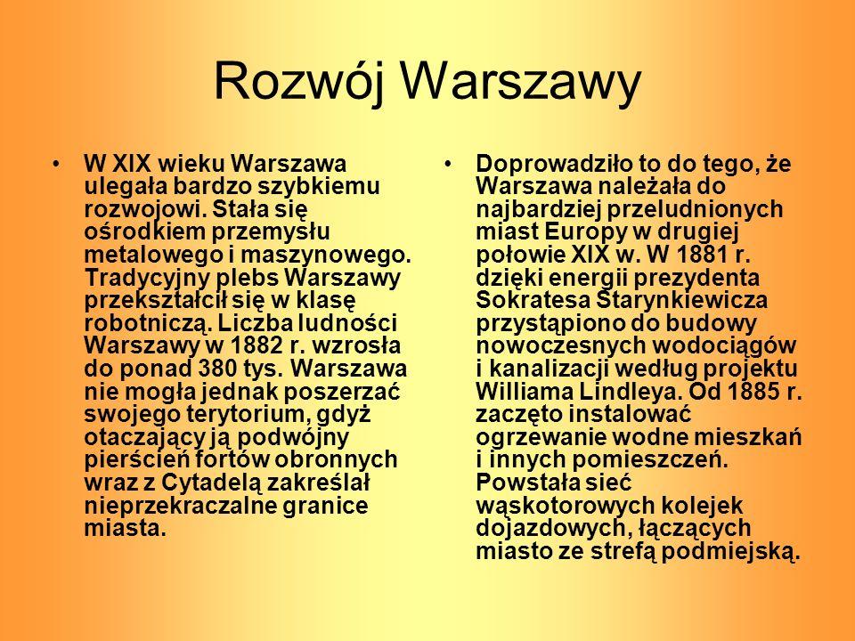 Rozwój Warszawy