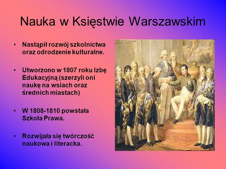 Nauka w Księstwie Warszawskim
