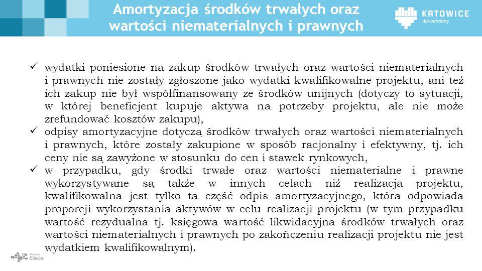 Amortyzacja środków trwałych oraz wartości niematerialnych i prawnych