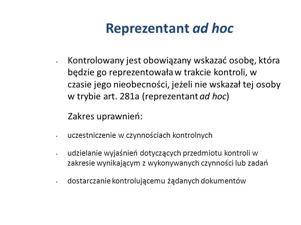 Reprezentant ad hoc