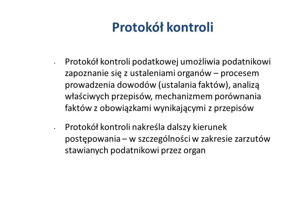 Protokół kontroli