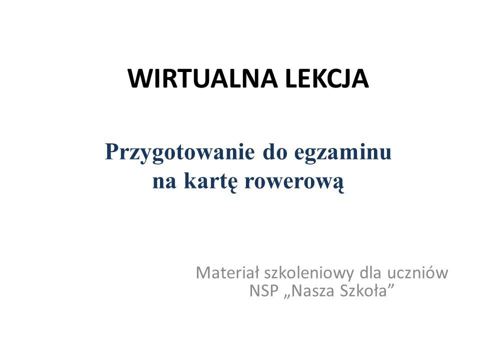"""Materiał szkoleniowy dla uczniów NSP """"Nasza Szkoła"""