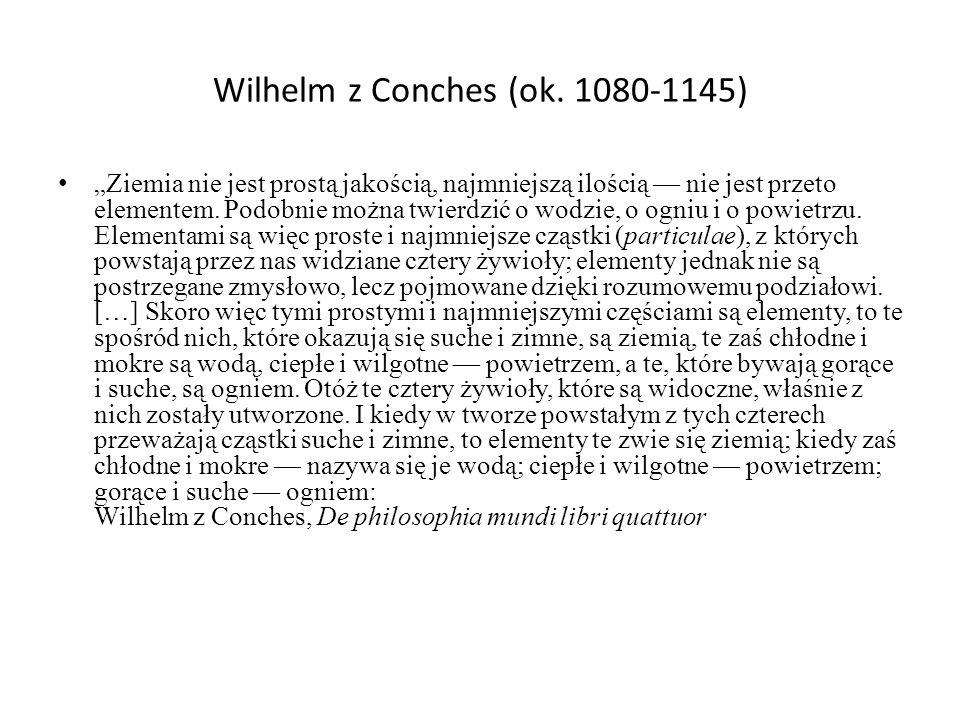 Wilhelm z Conches (ok. 1080-1145)