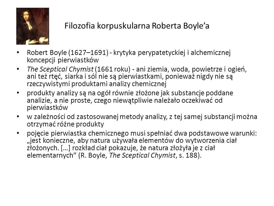 Filozofia korpuskularna Roberta Boyle'a