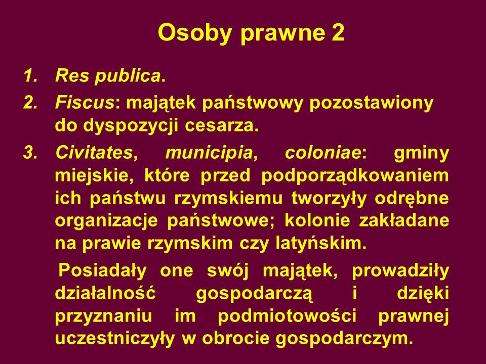 Osoby prawne 2 Res publica.