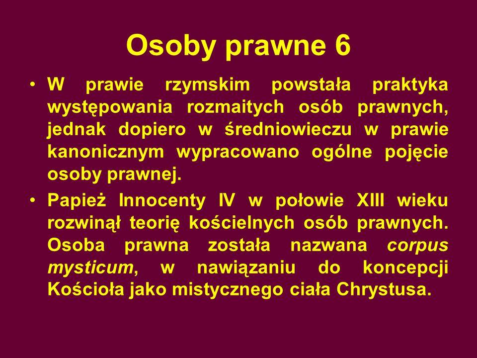 Osoby prawne 6