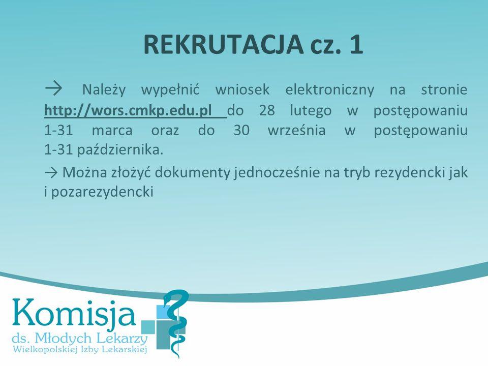 REKRUTACJA cz. 1