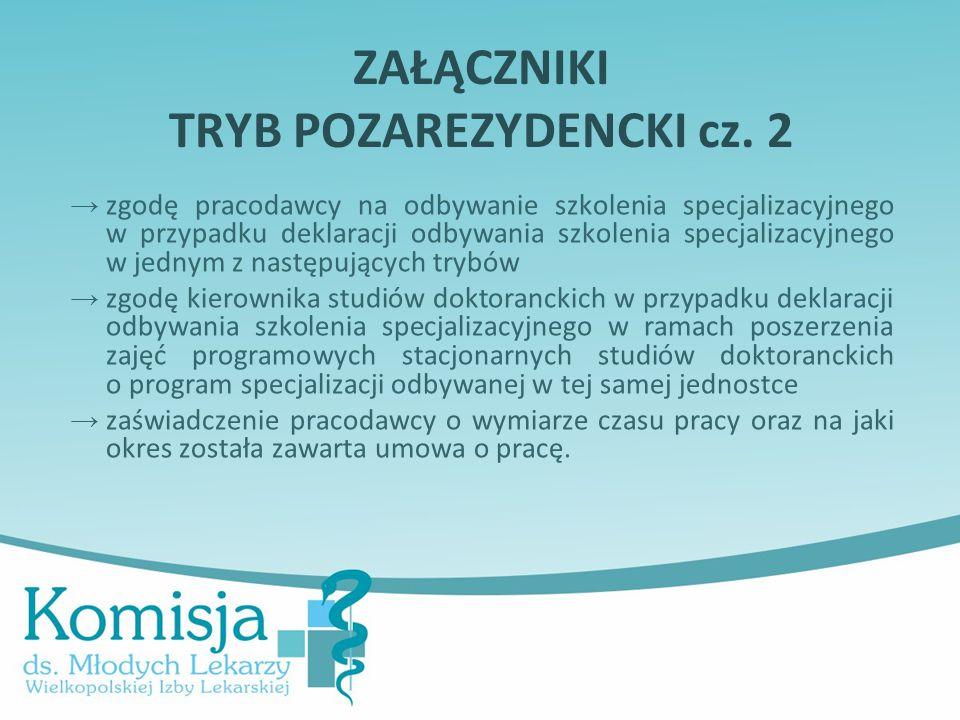 ZAŁĄCZNIKI TRYB POZAREZYDENCKI cz. 2