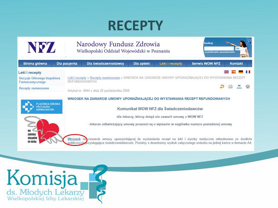 RECEPTY Kariera lekarza Lek. Marcin Żytkiewicz