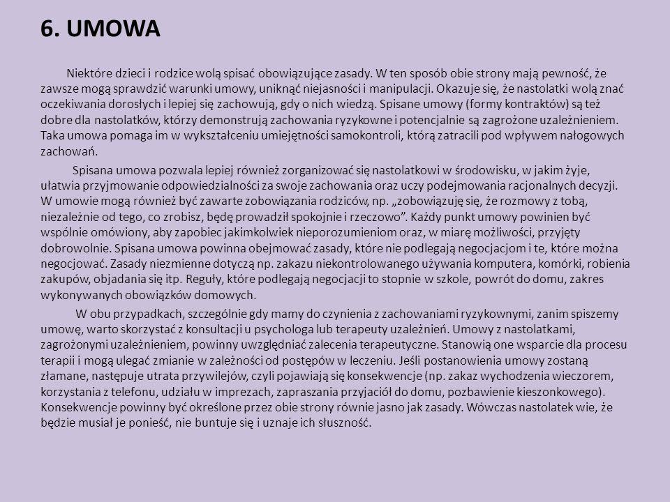 6. UMOWA