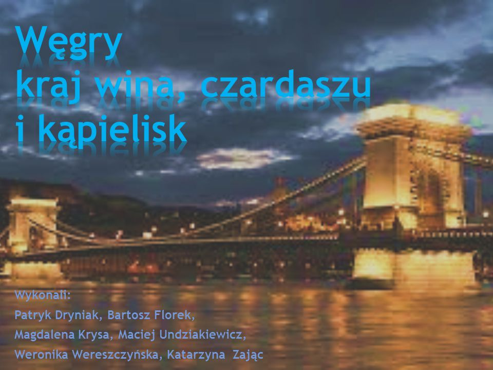 Węgry kraj wina, czardaszu i kąpielisk