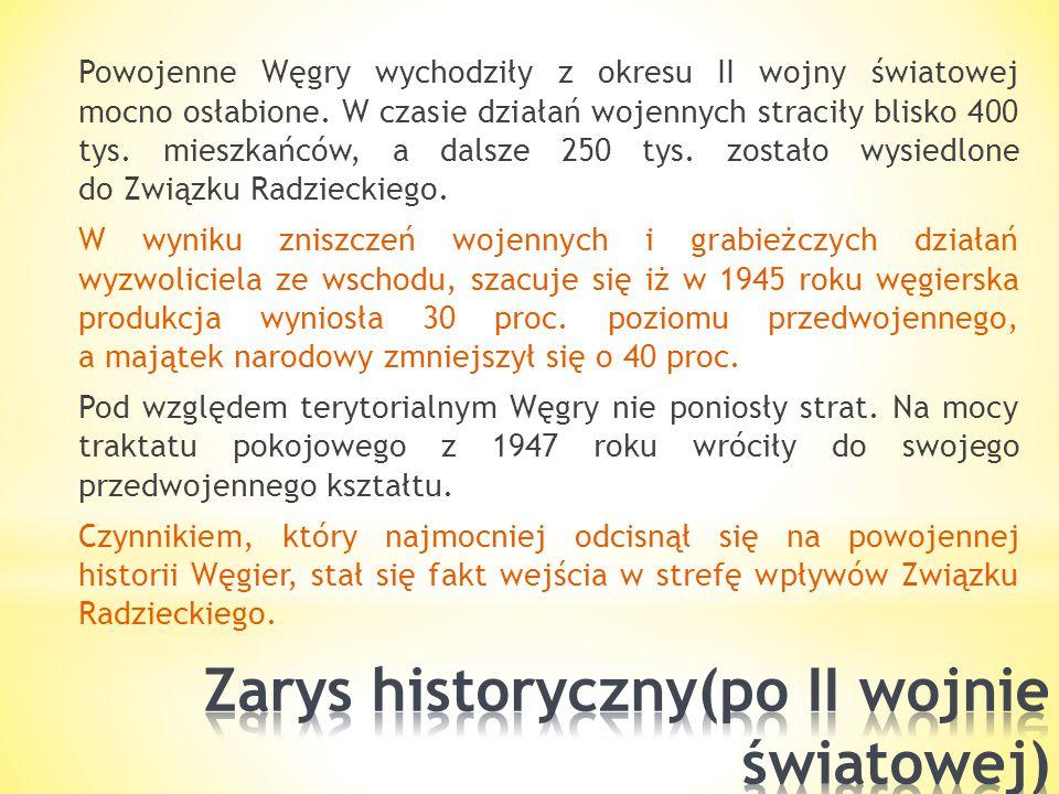 Zarys historyczny(po II wojnie światowej)