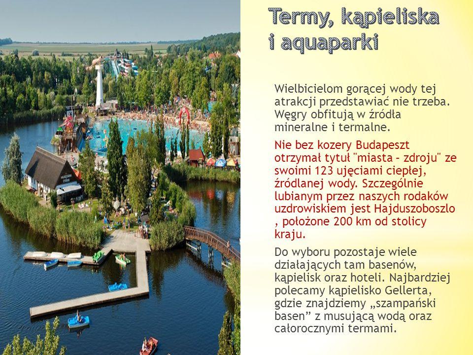Termy, kąpieliska i aquaparki