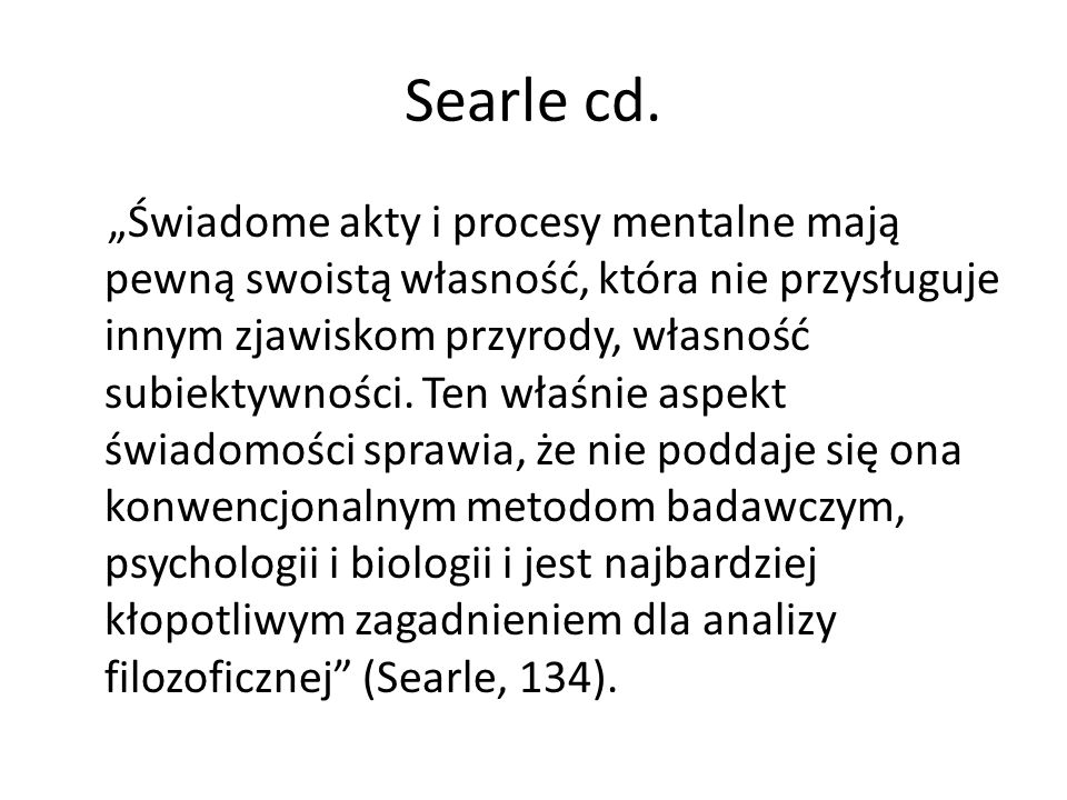 Searle cd.