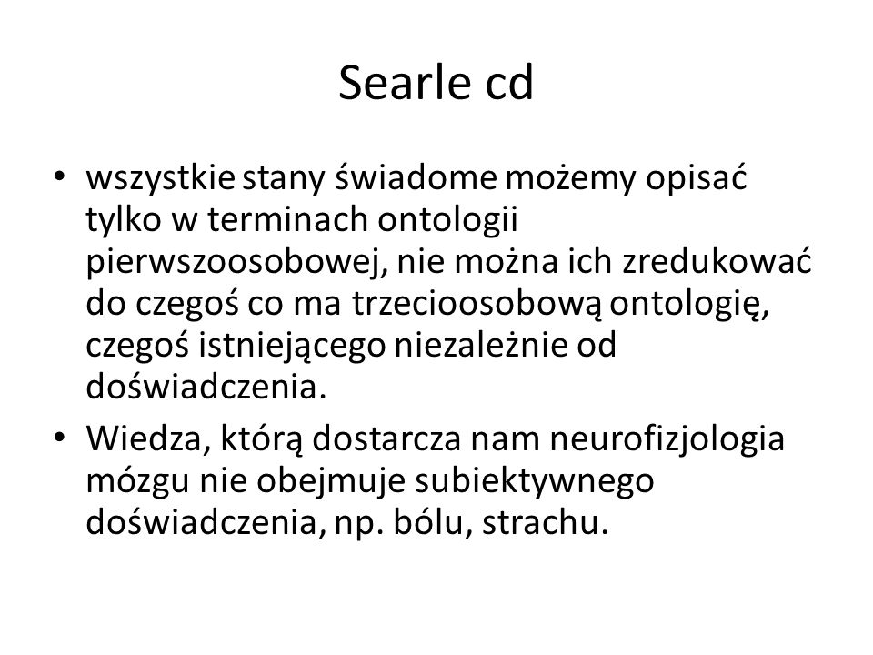 Searle cd