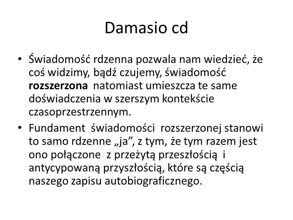 Damasio cd
